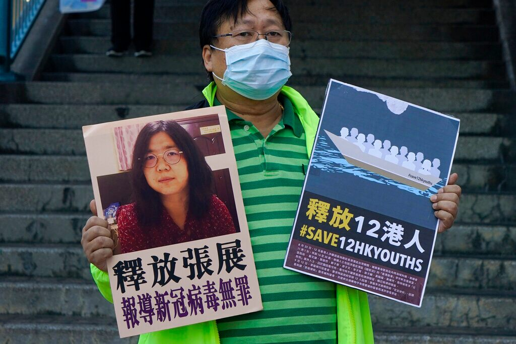 The citizen journalist in China who has written about COVID-19 has been sentenced to 4 years in prison