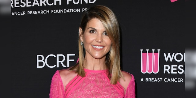 Lori Loughlin is released from prison after serving her sentence.  (Photo by John Kopaloff / FilmMagic)