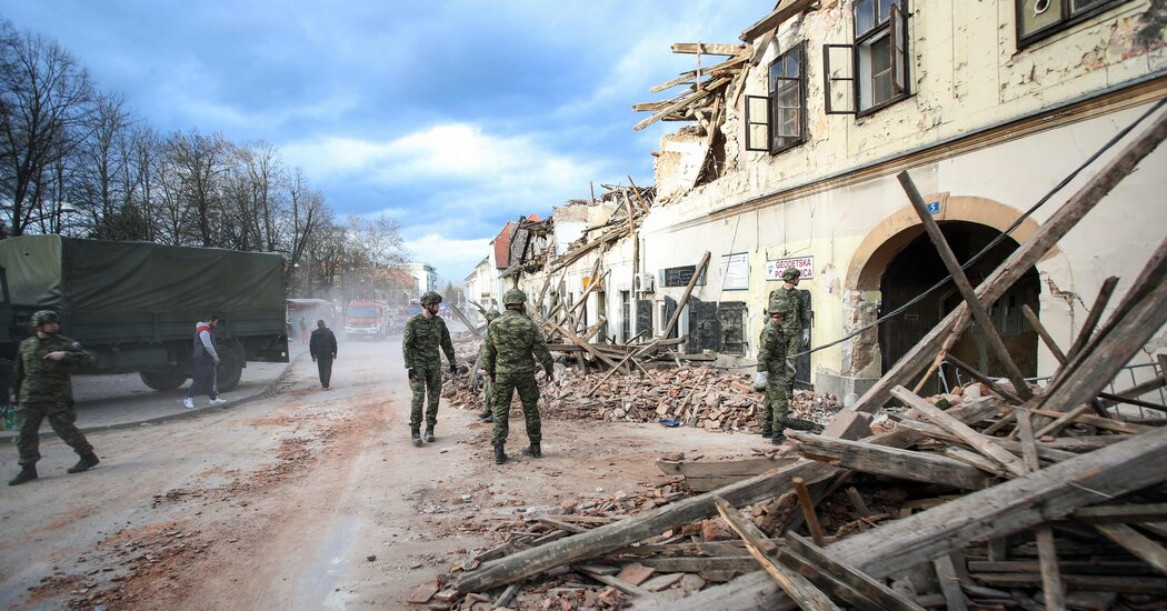 As aftershocks hit Croatia, recovery from earthquakes is slow and dangerous