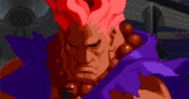 You can unlock Shin Akuma in Street Fighter Alpha 2