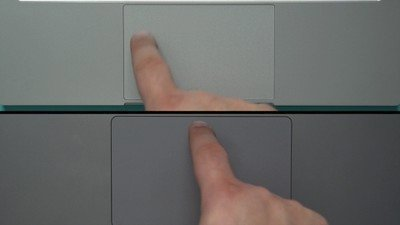 RazrBook vs MacBook Pro trackpad