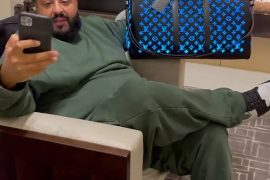 Colorful bag: DJ Khaled lights up Instagram on Tuesday with his new $ 26,000 Louis Vuitton color changing bag
