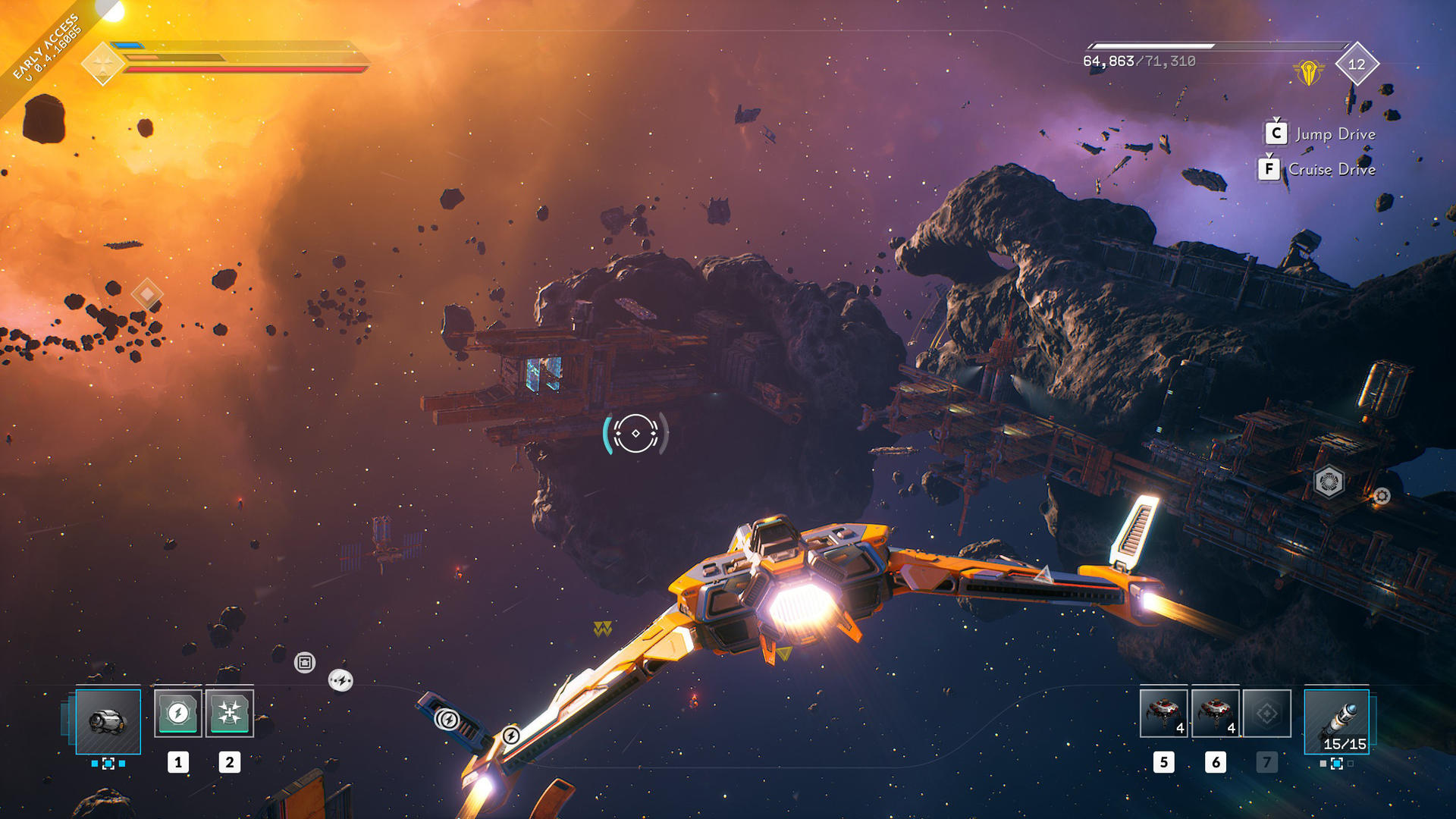 Everspace 2 was launched early