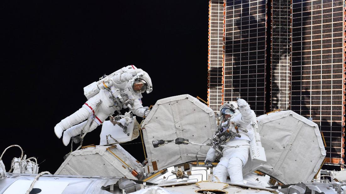Astronauts prepare for two upcoming flights in space