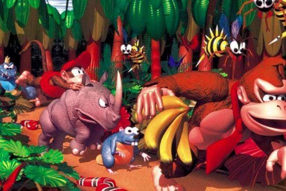A rare former artist reveals the original art of the Donkey Kong Country concept