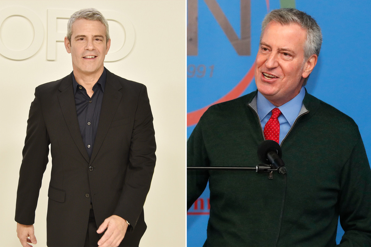 Andy Cohen rips up Mayor Bill de Blasio while drunk