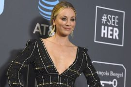 Kaley Cuoco praises Norman dog after his death: `` severe pain in the gut ''