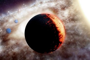"Observation of a rocky ""super-Earth"" planet orbiting one of the oldest stars of the Milky Way"