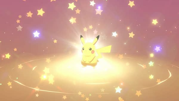 Yes, we can officially say, an animated 3D Pikachu was in space long before most humans appeared.  Courtesy of Nintendo.