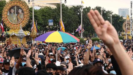 An unprecedented revolution in Thailand pits the people against the king