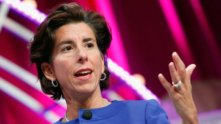 The Governor of Rhode Island is emerging as a leading candidate for the Department of Commerce