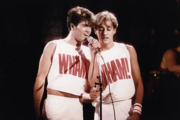 George Michael & Andrew Ridgeley of WHAM!